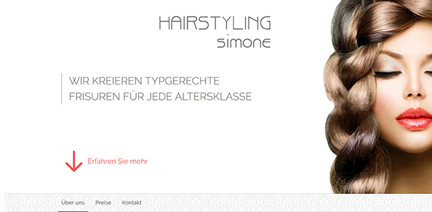 Hairstyling Simone